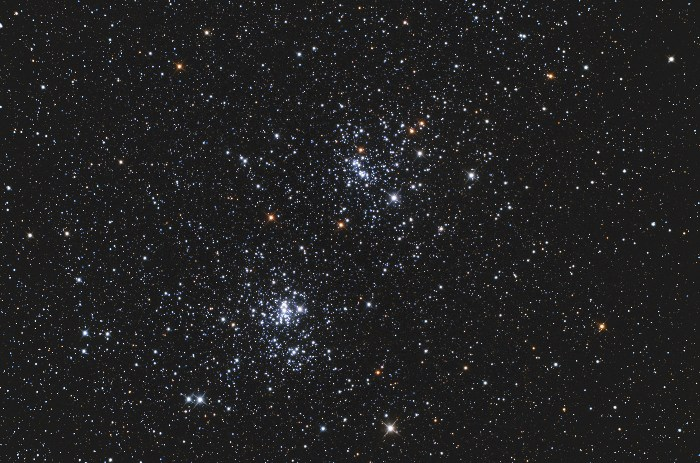 double cluster s